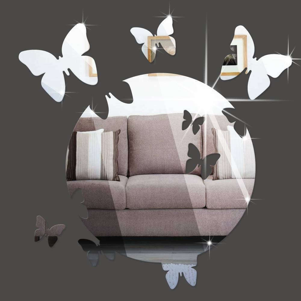 Popular Butterfly Wall Mirrors-Buy Cheap Butterfly Wall Mirrors intended for Butterfly Wall Mirrors (Image 19 of 25)