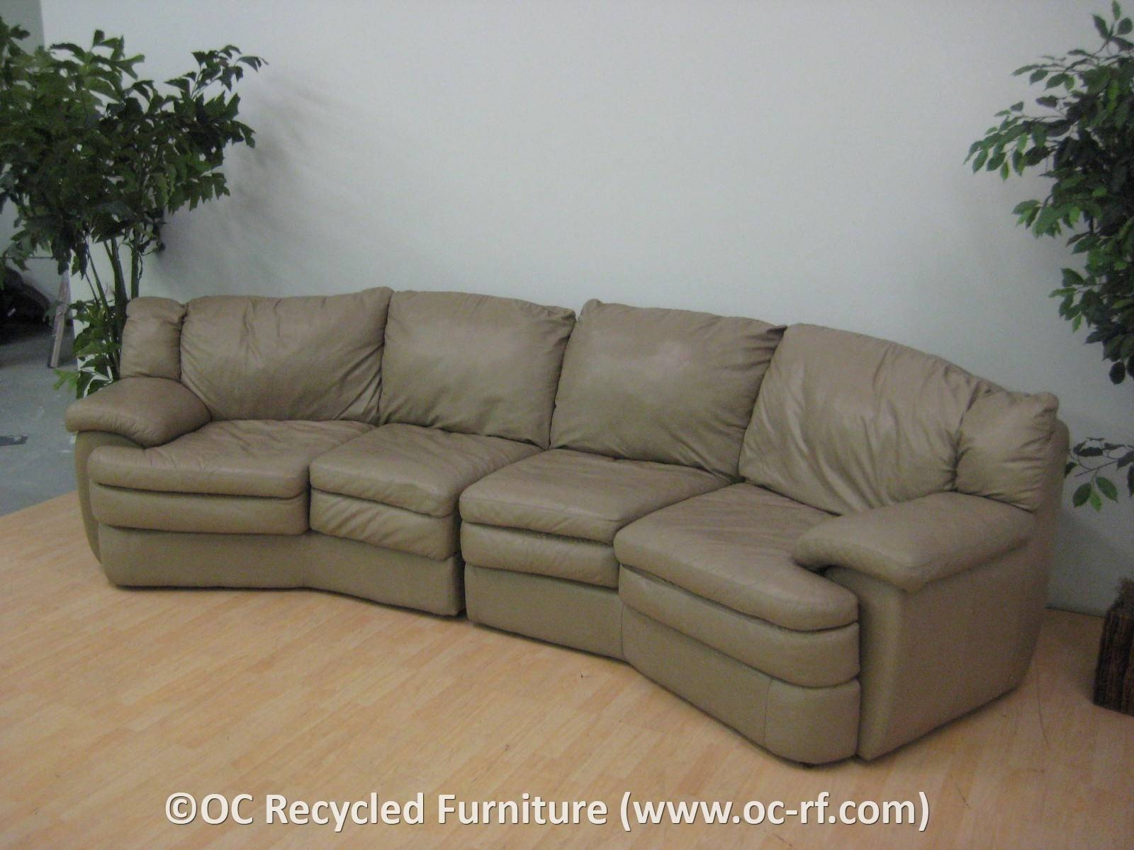 Popular Circular Sectional Sofas 90 In Jane Bi Sectional Sofa With in Bisectional Sofa (Image 27 of 30)