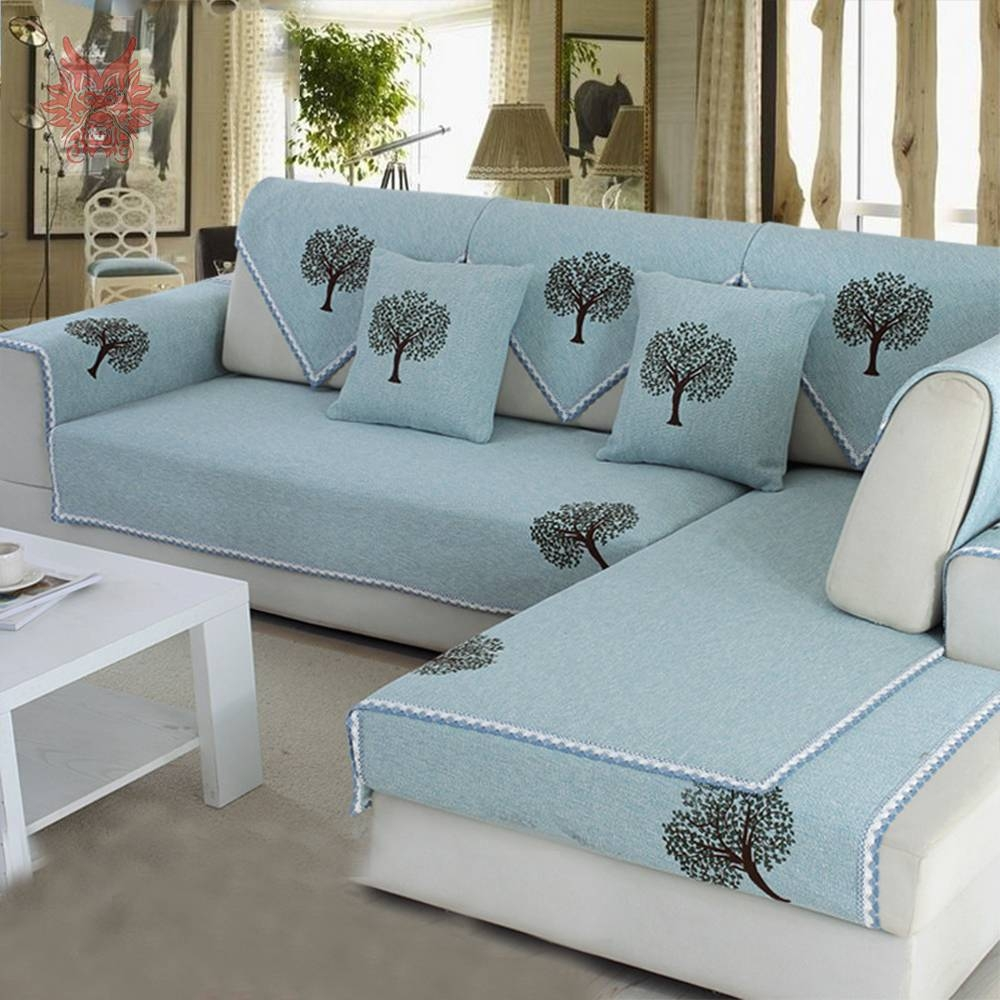 Popular Cotton Sofa Slipcovers-Buy Cheap Cotton Sofa Slipcovers with Teal Sofa Slipcovers (Image 20 of 30)
