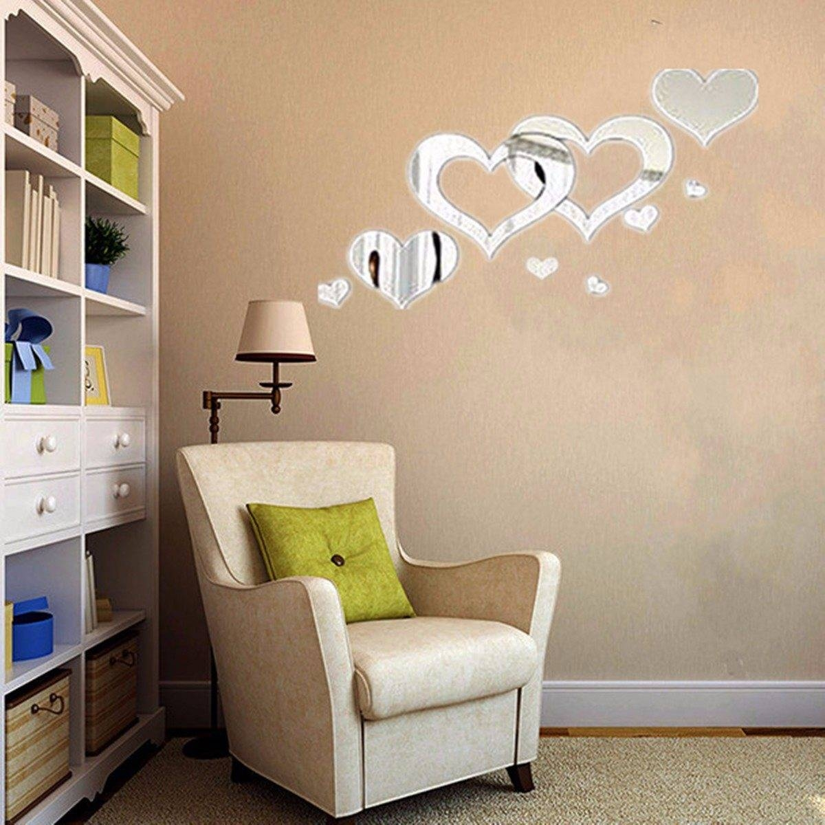 Popular Heart Shaped Mirrors-Buy Cheap Heart Shaped Mirrors Lots intended for Heart Shaped Mirrors for Wall (Image 16 of 25)