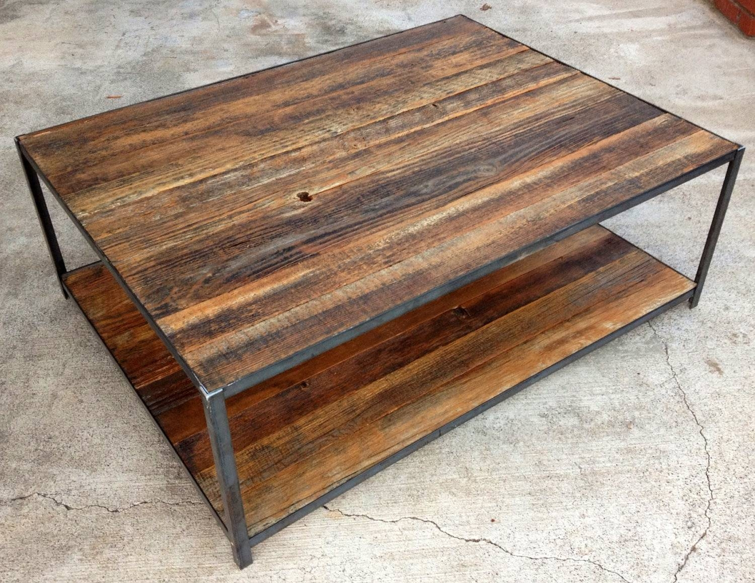 Popular Of Rustic Coffee And End Tables With Coffee Table Rustic throughout Rustic Barnwood Coffee Tables (Image 22 of 30)