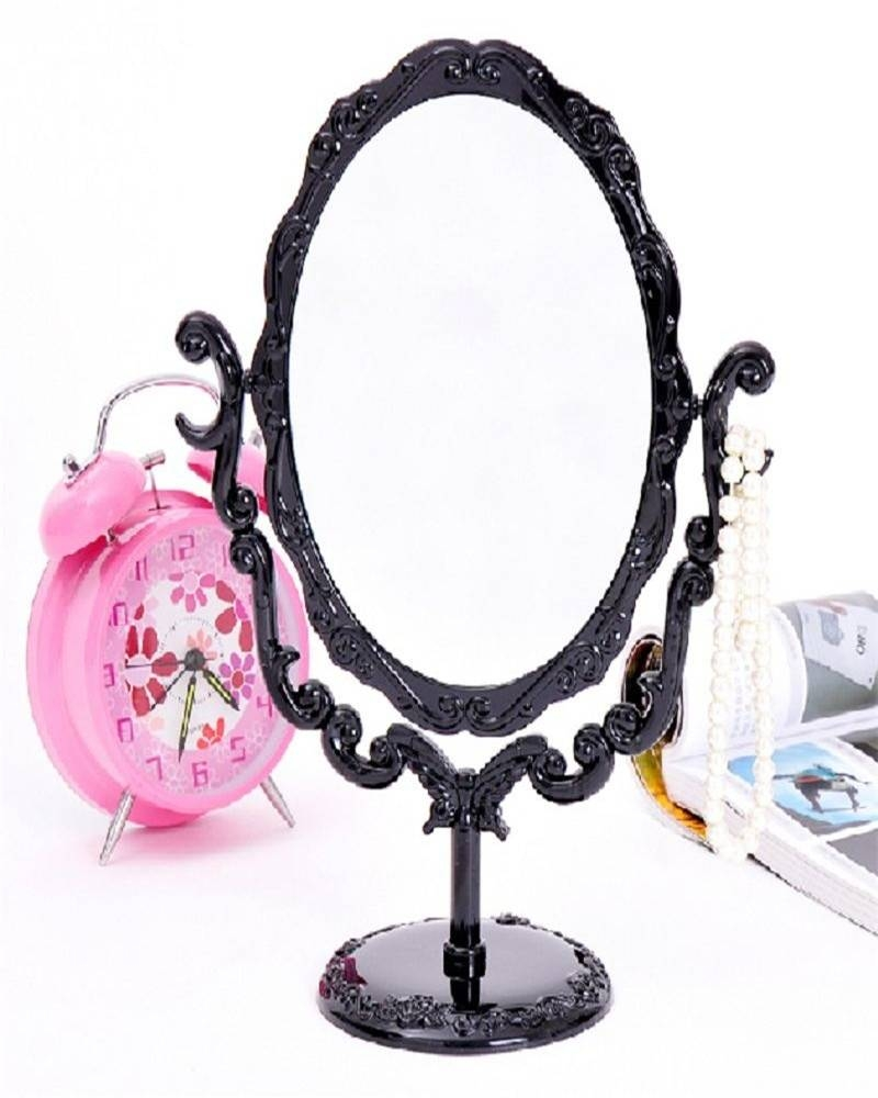 Popular Rose Compact Mirror-Buy Cheap Rose Compact Mirror Lots throughout Gothic Style Mirrors (Image 23 of 25)