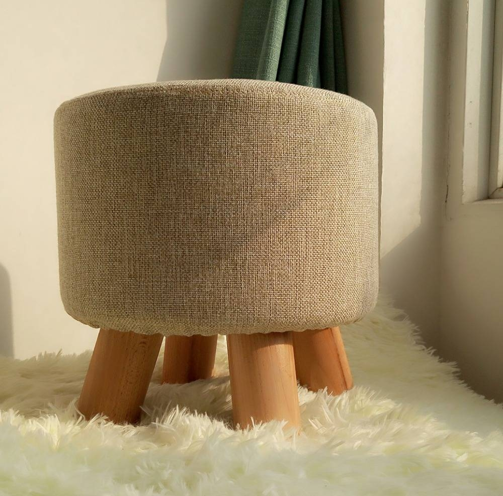 Popular Round Footstools-Buy Cheap Round Footstools Lots From intended for Fabric Footstools (Image 25 of 30)