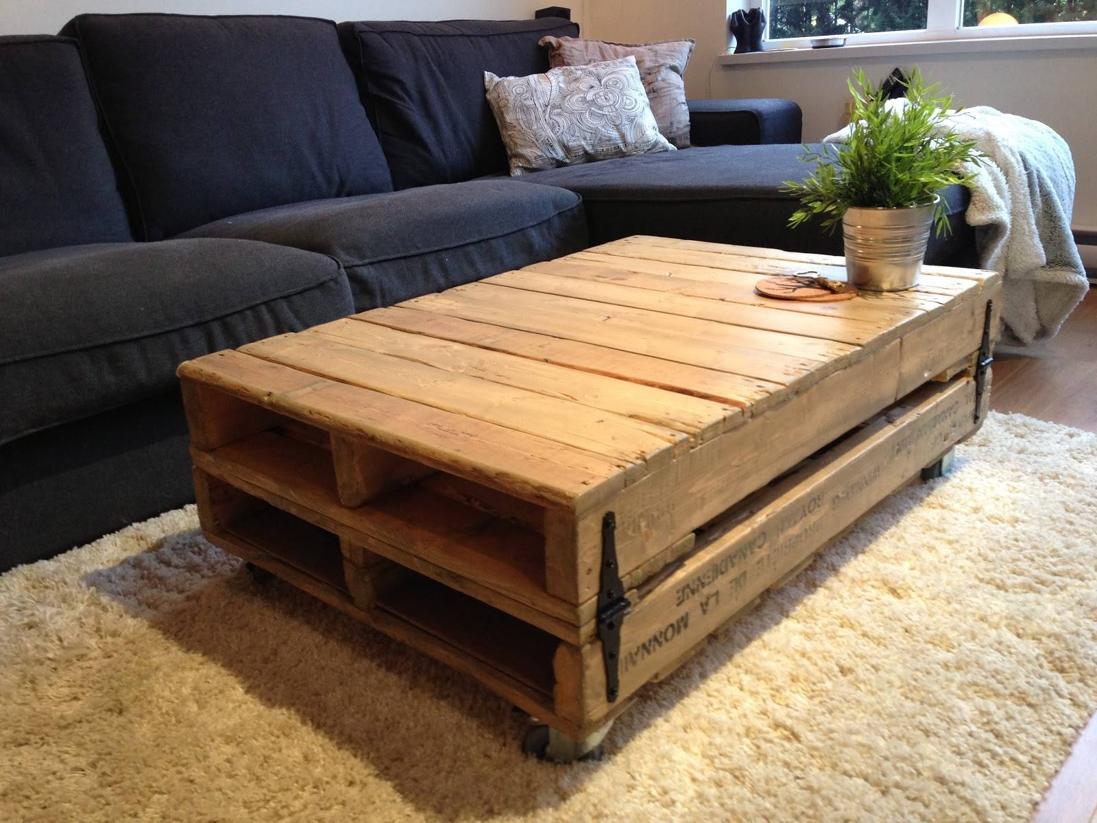 Popular Rustic Storage Coffee Table : Diy Secret Rustic Storage inside Rustic Storage Diy Coffee Tables (Image 21 of 30)