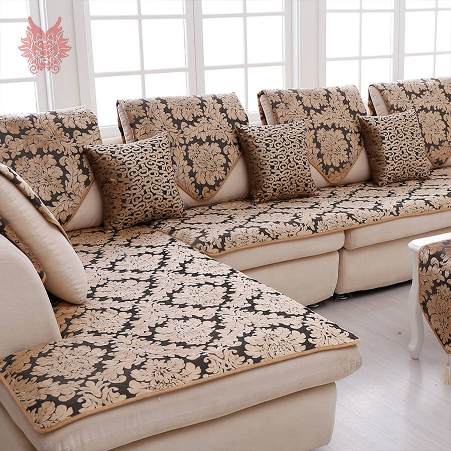 Popular Sectional Couch Covers-Buy Cheap Sectional Couch Covers throughout Gold Sectional Sofa (Image 18 of 25)
