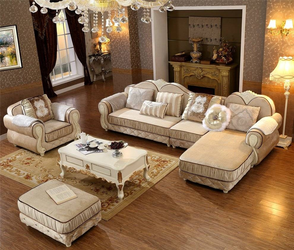 Popular Sectional Sofa Ottoman-Buy Cheap Sectional Sofa Ottoman within European Style Sectional Sofas (Image 27 of 30)