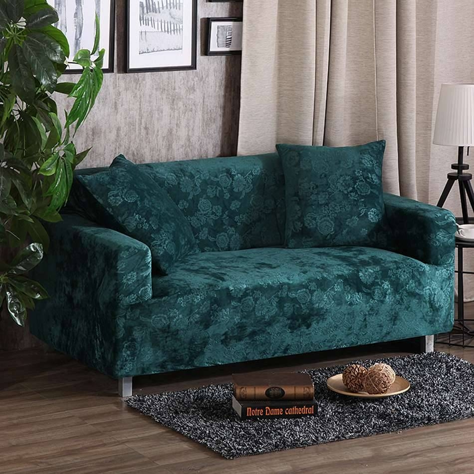 Popular Stretch Sofa Cover-Buy Cheap Stretch Sofa Cover Lots From with regard to Teal Sofa Slipcovers (Image 24 of 30)