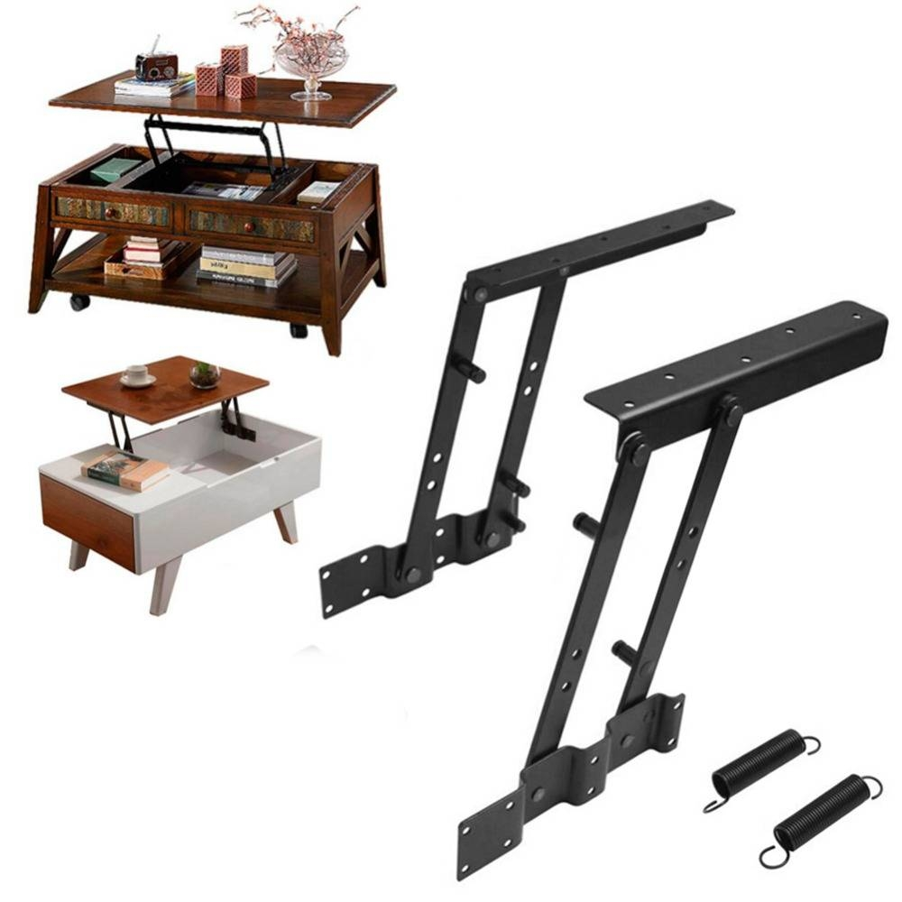 Popular Table Lift Mechanism Buy Cheap Table Lift Mechanism Lots Within Swing Up Coffee Tables (View 23 of 30)