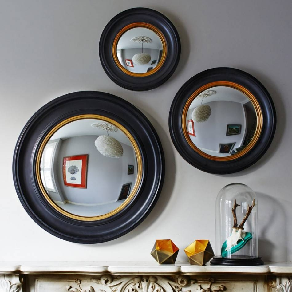 Porthole Mirrors | Mirrors | Graham And Green pertaining to Black Convex Mirrors (Image 15 of 25)