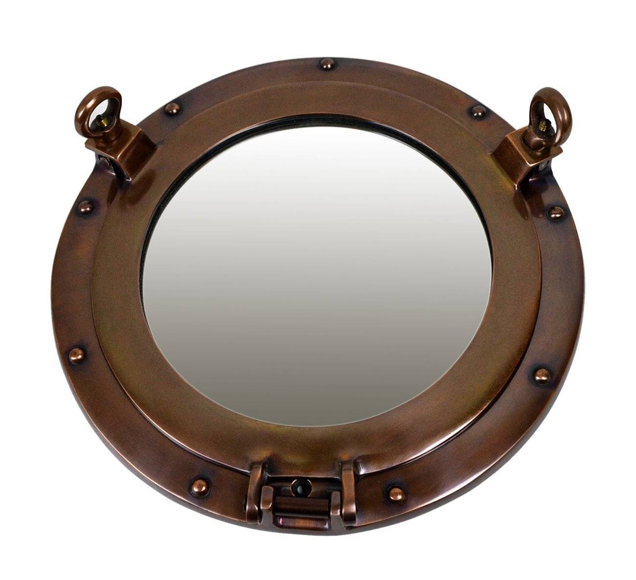 Porthole Windows Porthole Mirrors Largest Selection Ships Port Holes Pertaining To Chrome Porthole Mirrors (View 21 of 25)