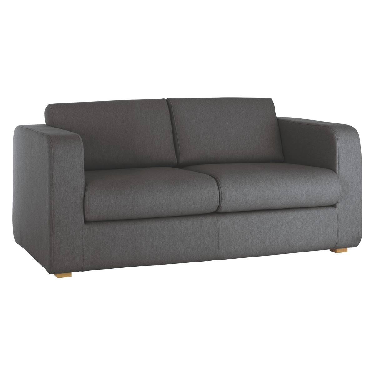 Porto Charcoal Fabric 2 Seater Sofa | Buy Now At Habitat Uk inside Two Seater Chairs (Image 17 of 30)