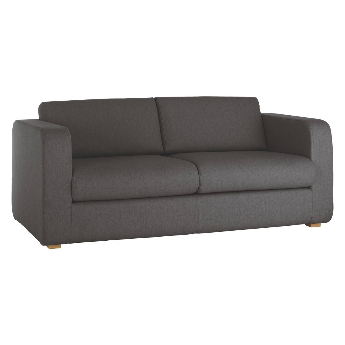 Porto Charcoal Fabric 3 Seater Sofa Bed | Buy Now At Habitat Uk with regard to Three Seater Sofas (Image 25 of 30)