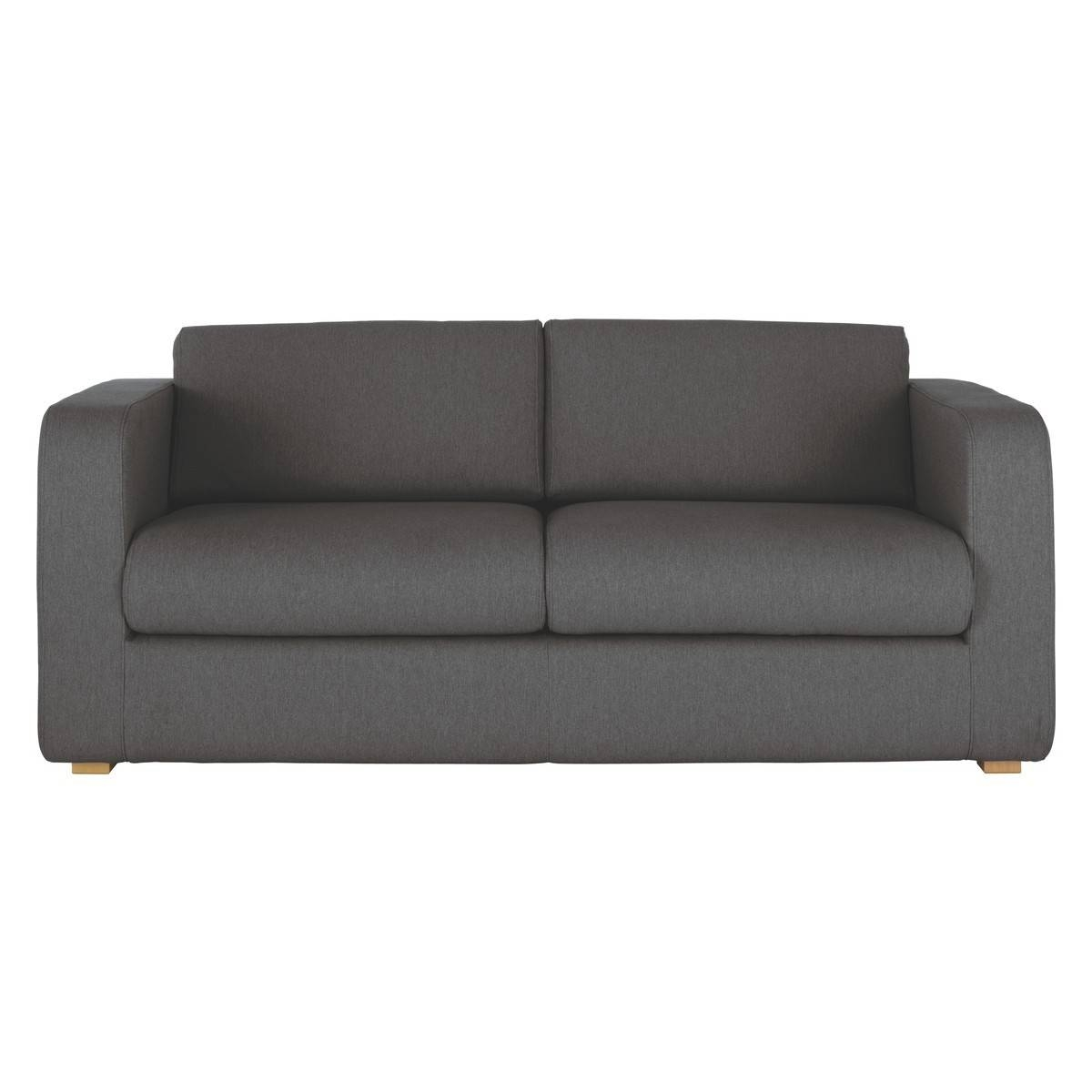 Porto Charcoal Fabric 3 Seater Sofa | Buy Now At Habitat Uk intended for 3 Seater Sofas For Sale (Image 15 of 30)