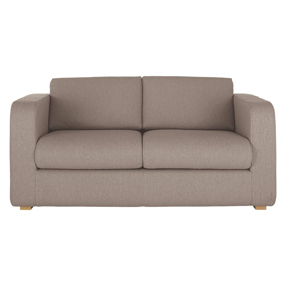Porto Natural Fabric 2 Seater Sofa Bed | Buy Now At Habitat Uk throughout 2 Seater Sofas (Image 21 of 30)