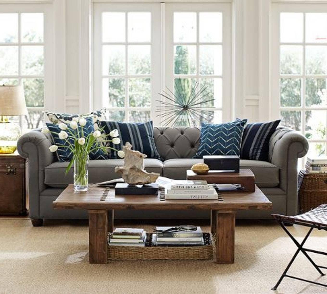 Pottery Barn Chesterfield Sofa - Militariart regarding Chesterfield Recliners (Image 21 of 30)