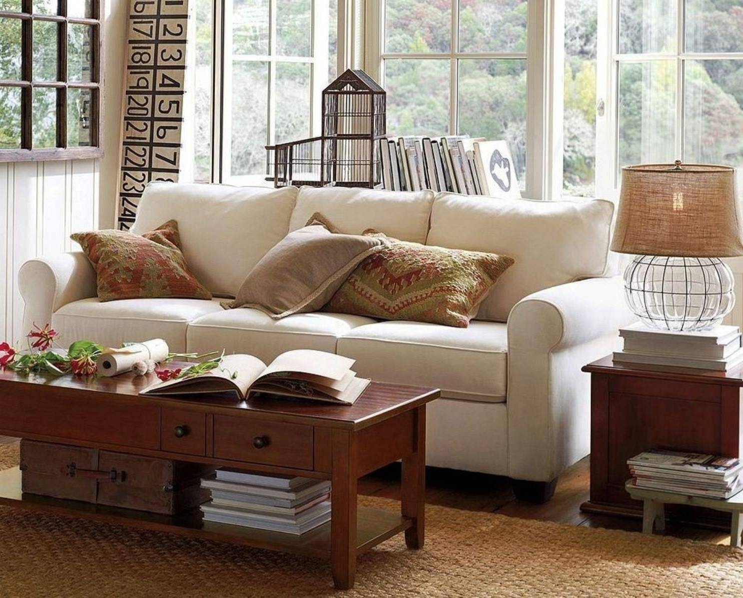 Pottery Barn Giant Sofa Bed | Bed Furniture Decoration in Antique Glass Pottery Barn Coffee Tables (Image 21 of 30)