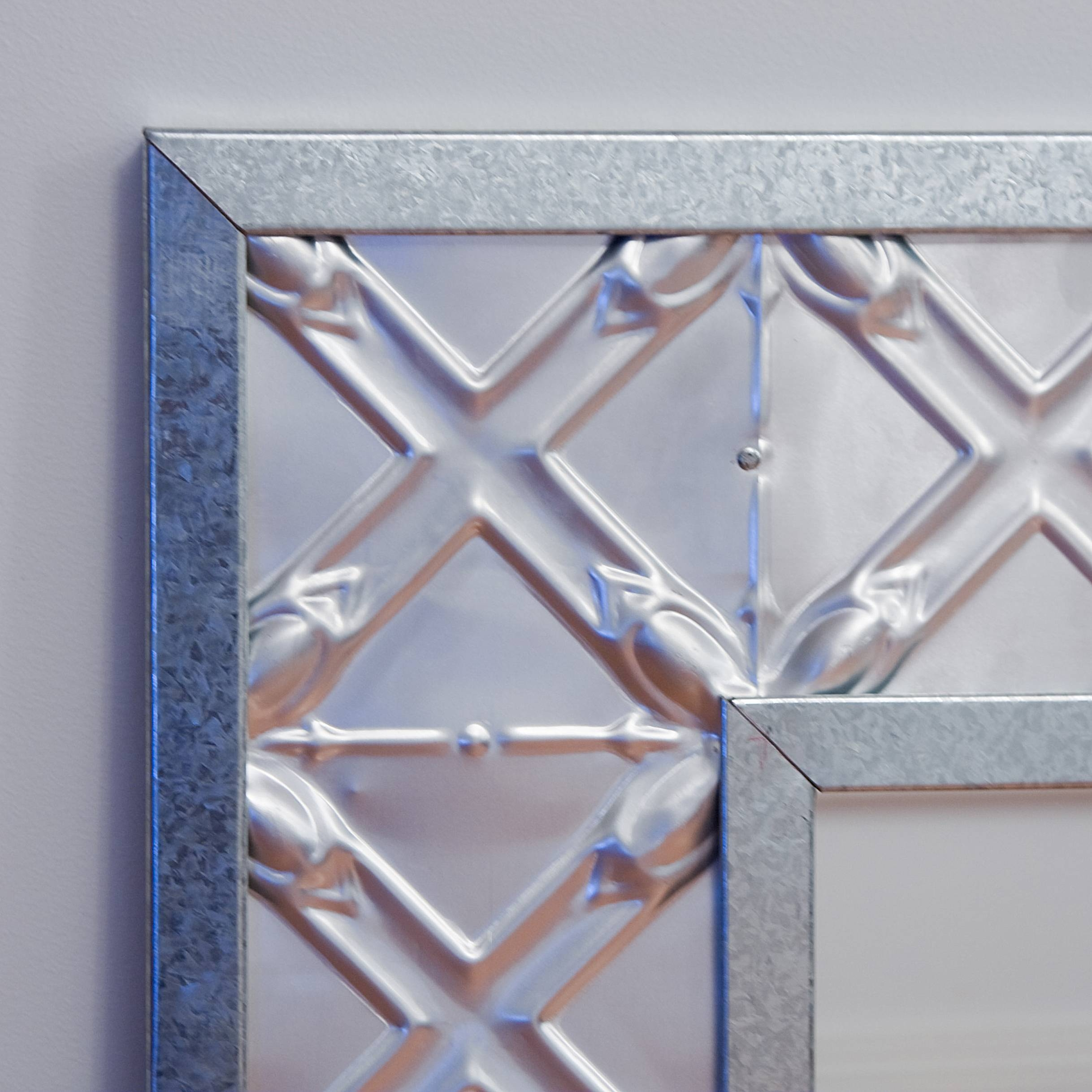 Pressed Tin Mirrors intended for Pressed Tin Mirrors (Image 16 of 25)