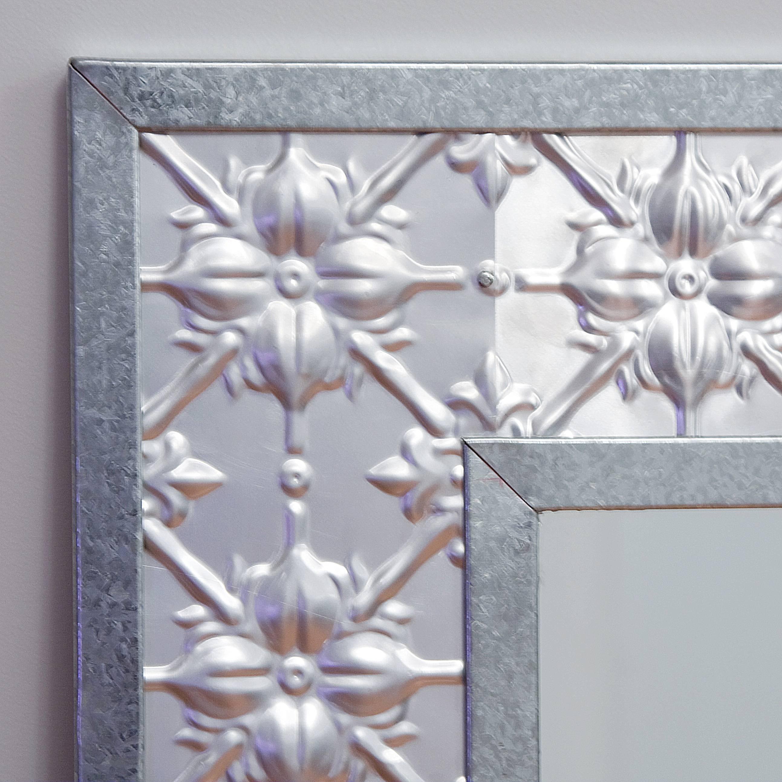 Pressed Tin Mirrors regarding Pressed Tin Mirrors (Image 19 of 25)