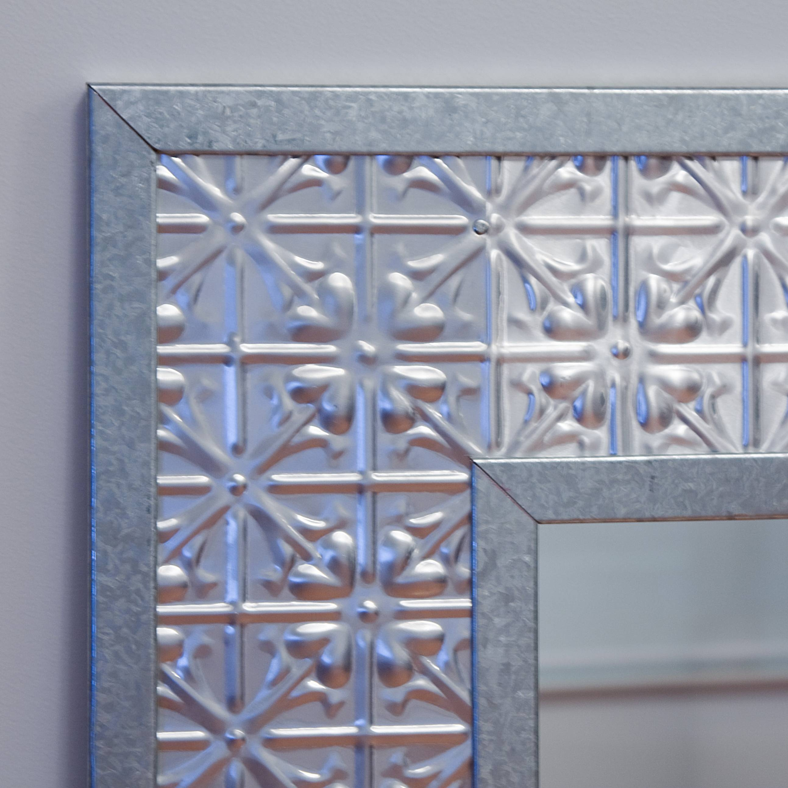 Pressed Tin Mirrors throughout Pressed Tin Mirrors (Image 20 of 25)