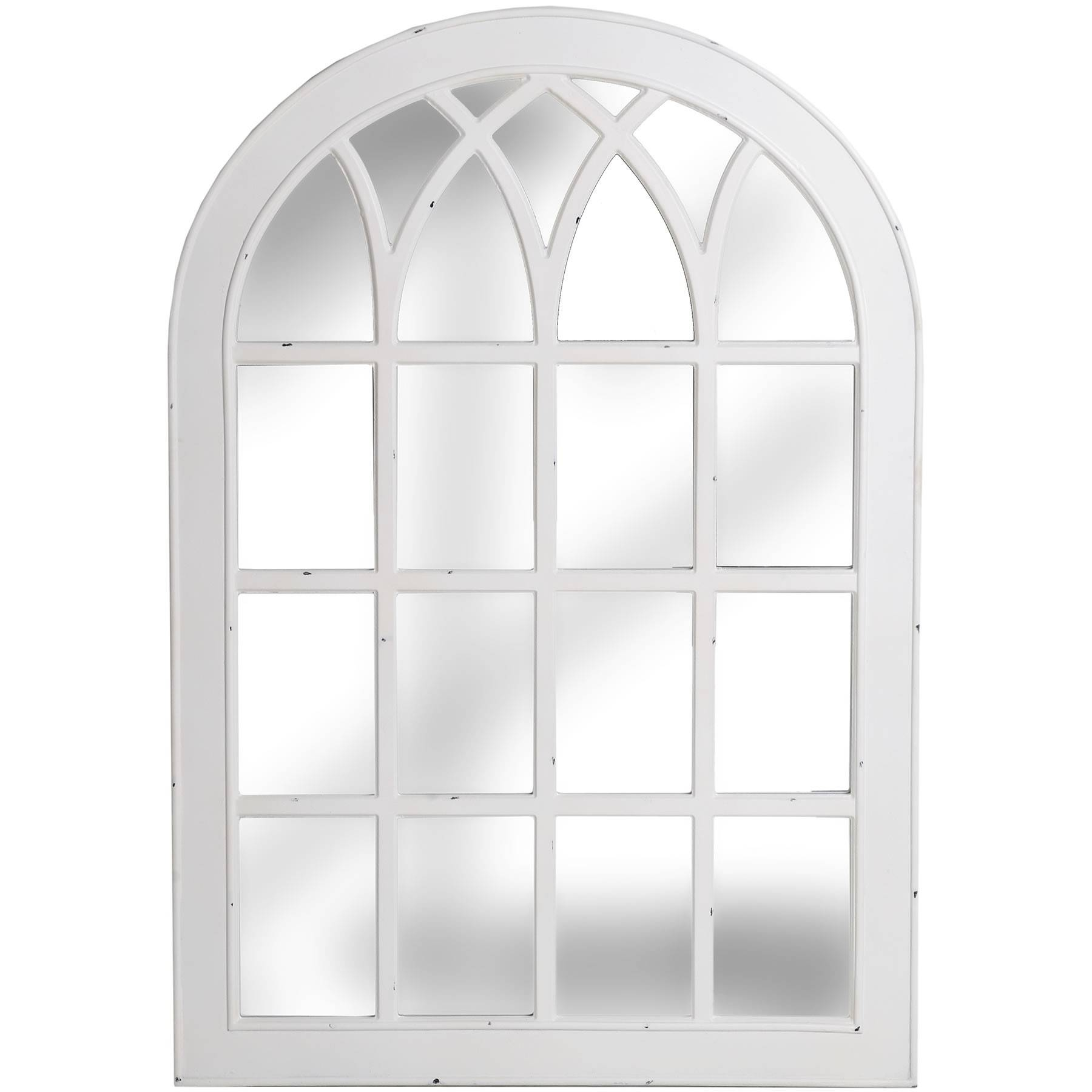 Prev. . Leaner Mirror Arched Window Pane Mirror Archway Mirror with regard to Large Arched Mirrors (Image 23 of 25)
