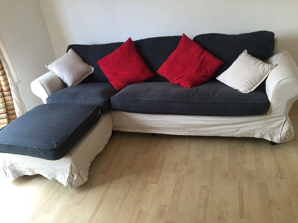 Priced To Sell** L-Shape Ikea Corner Sofa With Washable Covers And throughout Sofa With Washable Covers (Image 15 of 30)