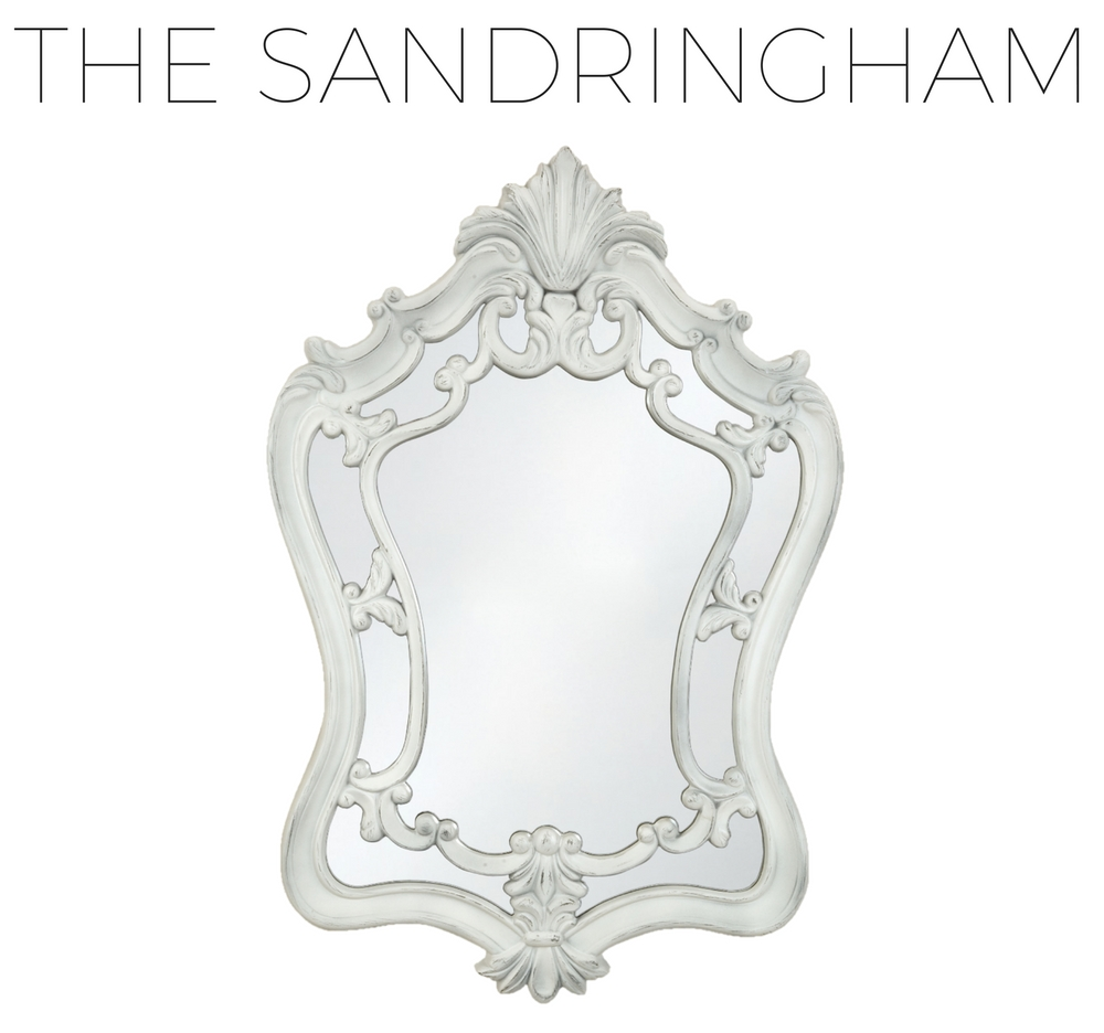 Product Spotlight: French Traditional Mirrors - Selectionschaumont with White Baroque Wall Mirrors (Image 17 of 25)