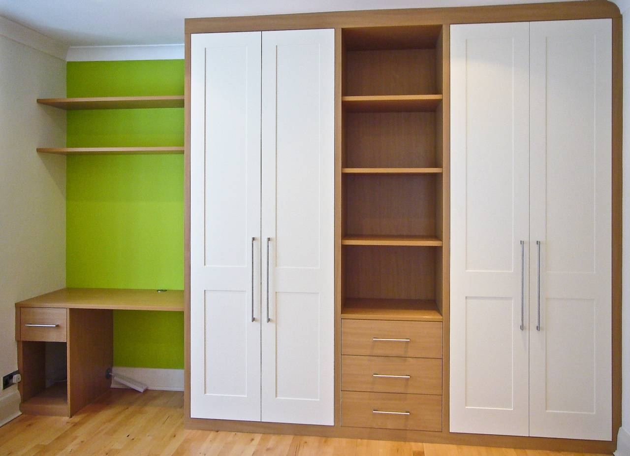 Proline Regarding Oak Wardrobe With Drawers And Shelves (View 6 of 30)