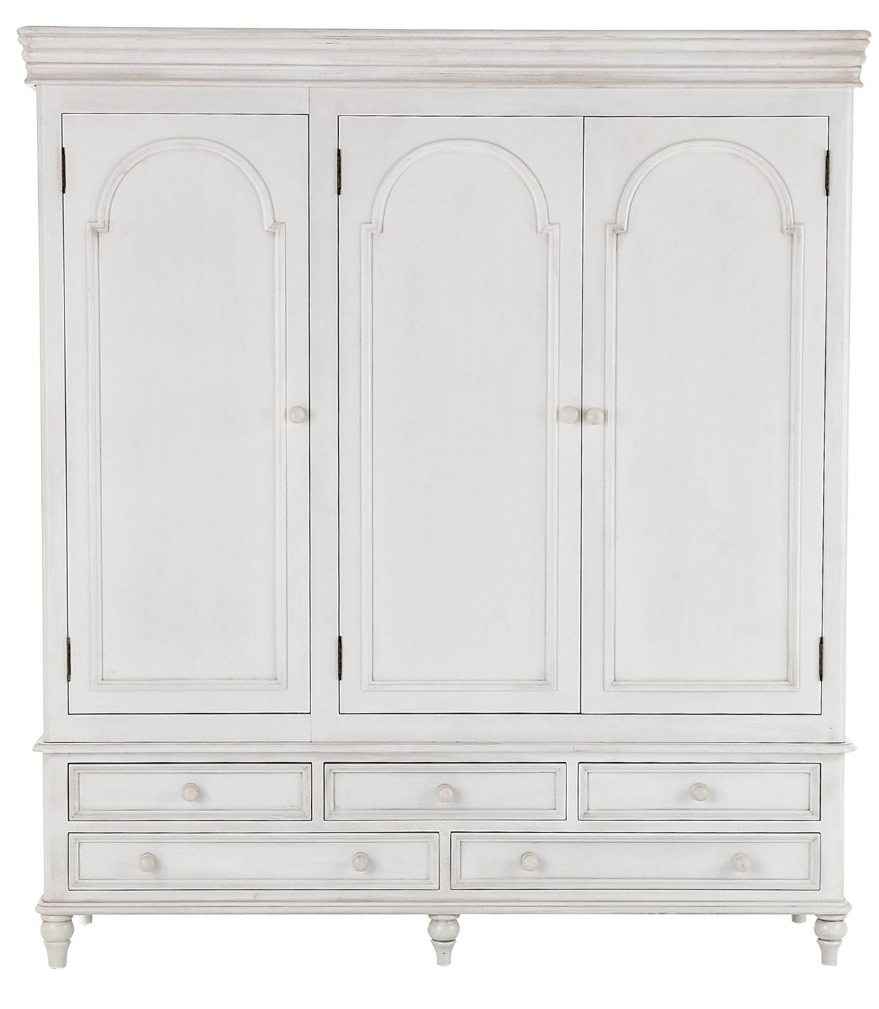 Provence Antique White Bedroom Furniture, Shabby Chic Chest Of pertaining to White Shabby Chic Wardrobes (Image 6 of 15)