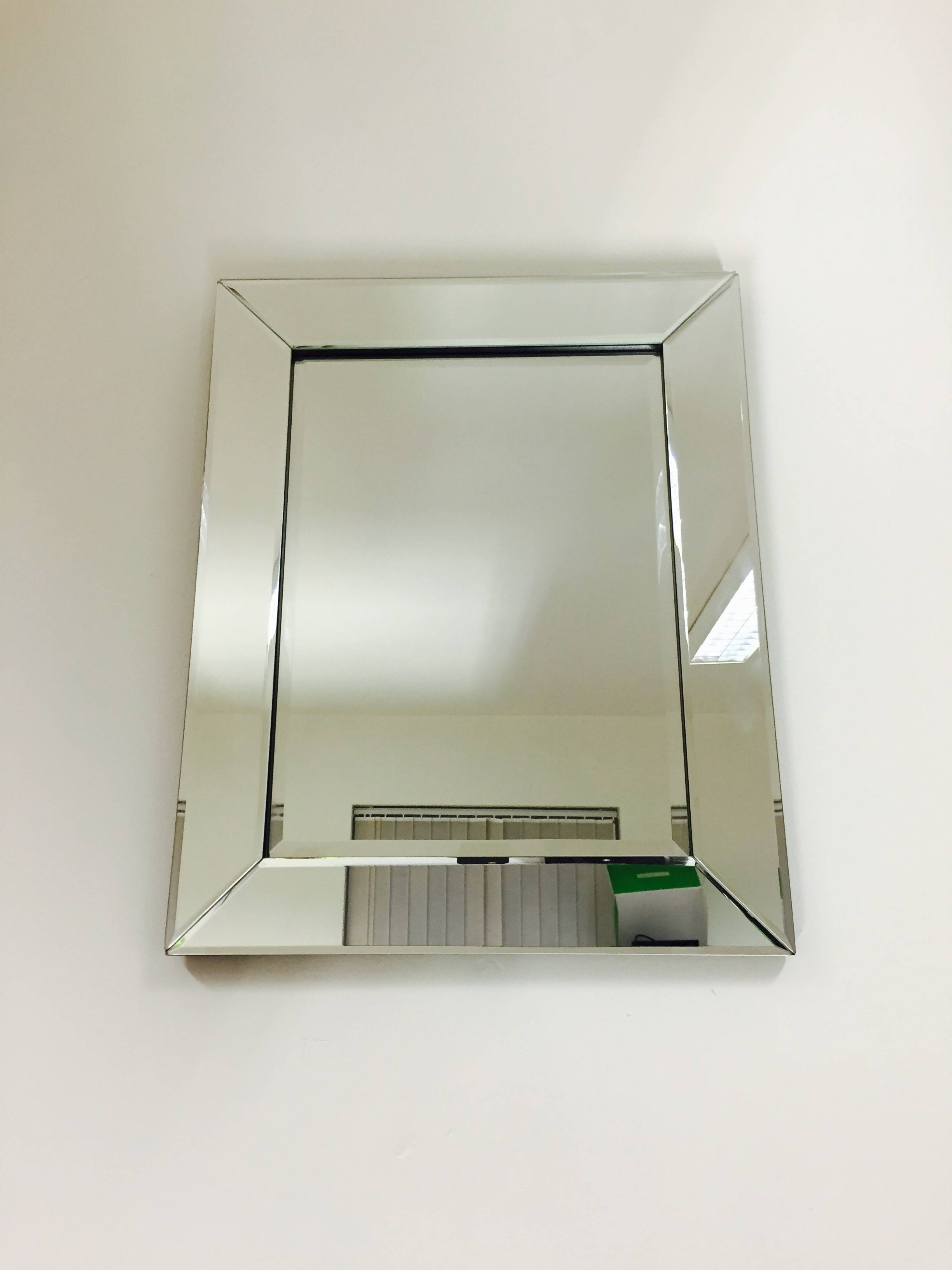 Prs Group Uk | Venetian Bevelled Wall Mirror 50Cm X 40Cm intended for Bevelled Wall Mirrors (Image 22 of 25)