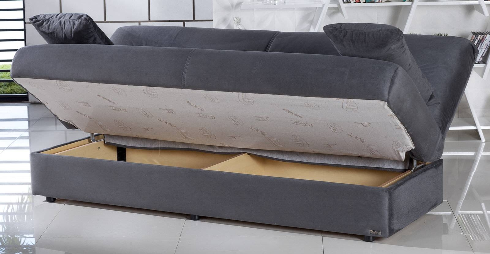 Pull Out Sofa Bed With Storage | Tehranmix Decoration within Storage Sofa Ikea (Image 23 of 25)