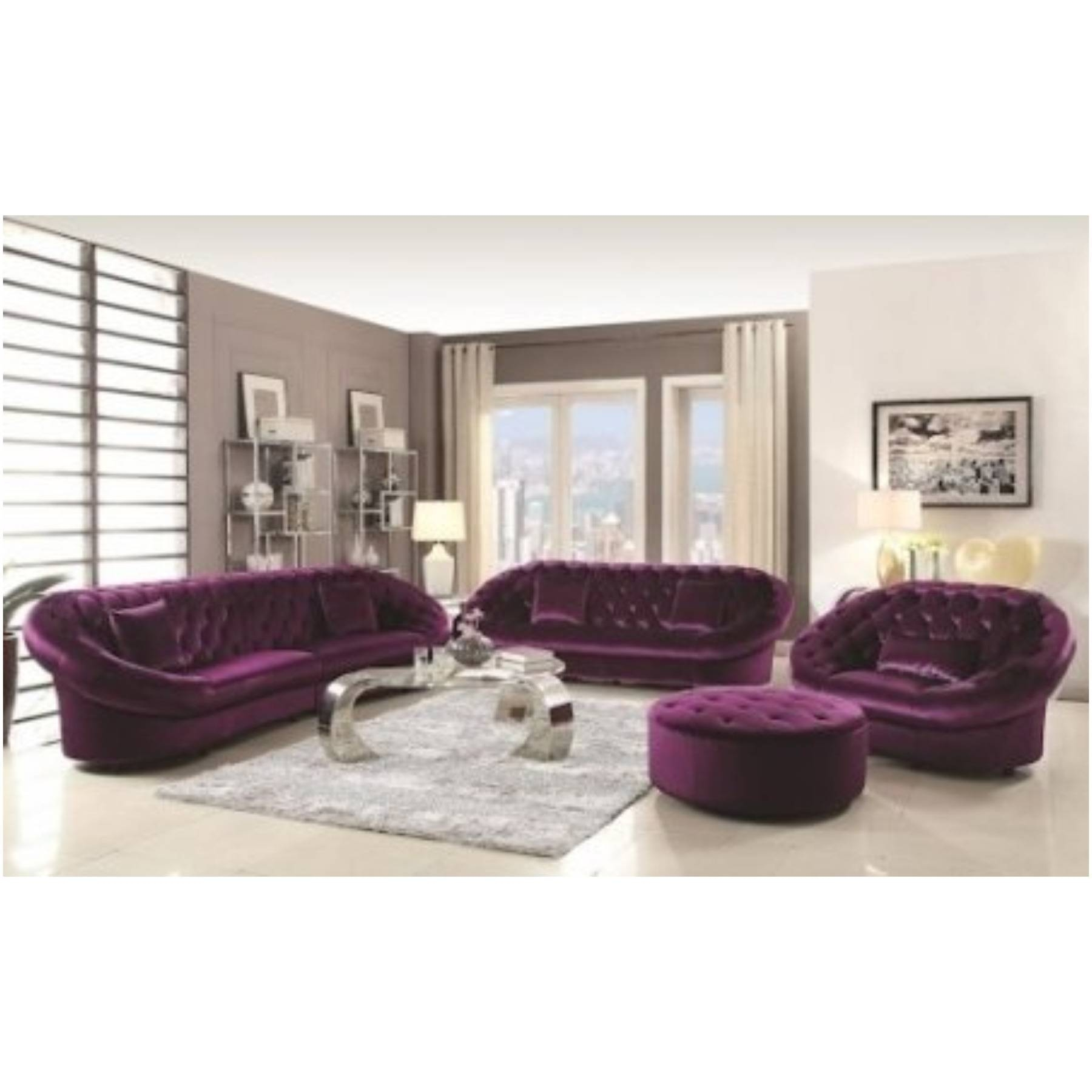 Purple Ottoman Coffee Table throughout Purple Ottoman Coffee Tables (Image 25 of 30)