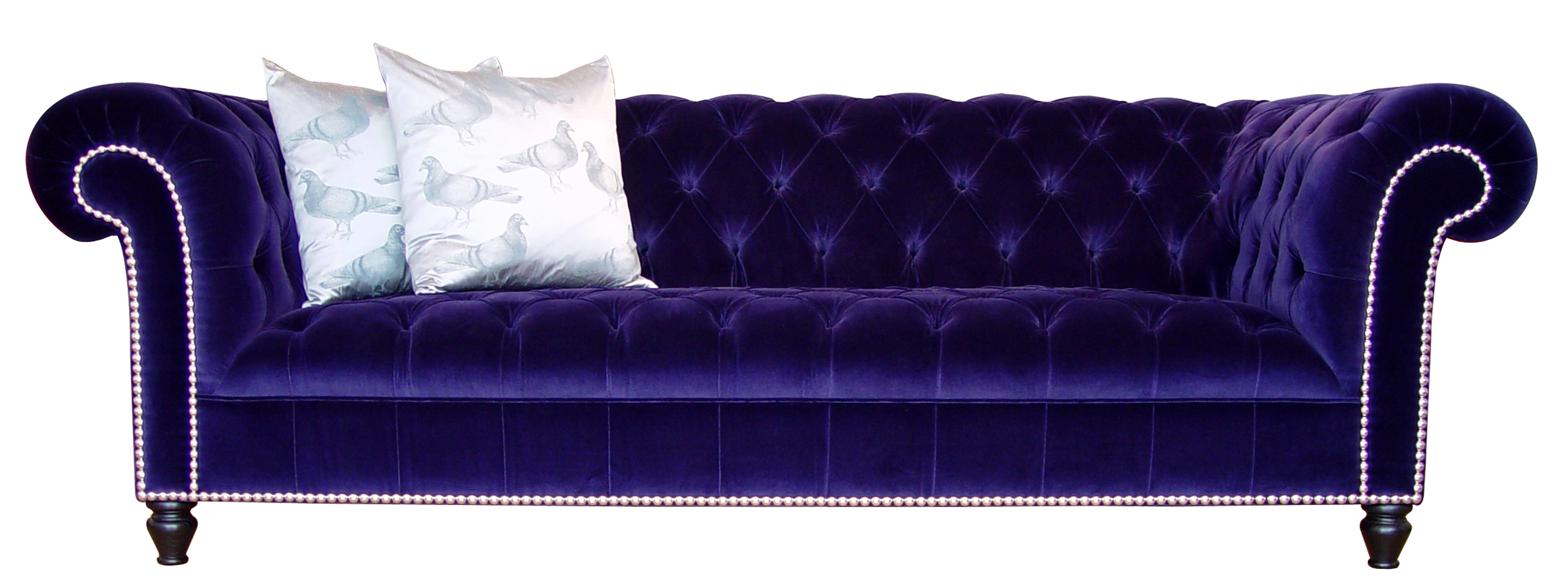Purple Velvet Sofas – Thesofa regarding Velvet Purple Sofas (Image 21 of 30)