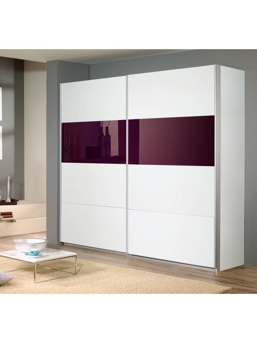 Quadra Sliding Door Wardrobe 2 Doors W136Cm - Rauch Furniture within 2 Sliding Door Wardrobes (Image 10 of 15)