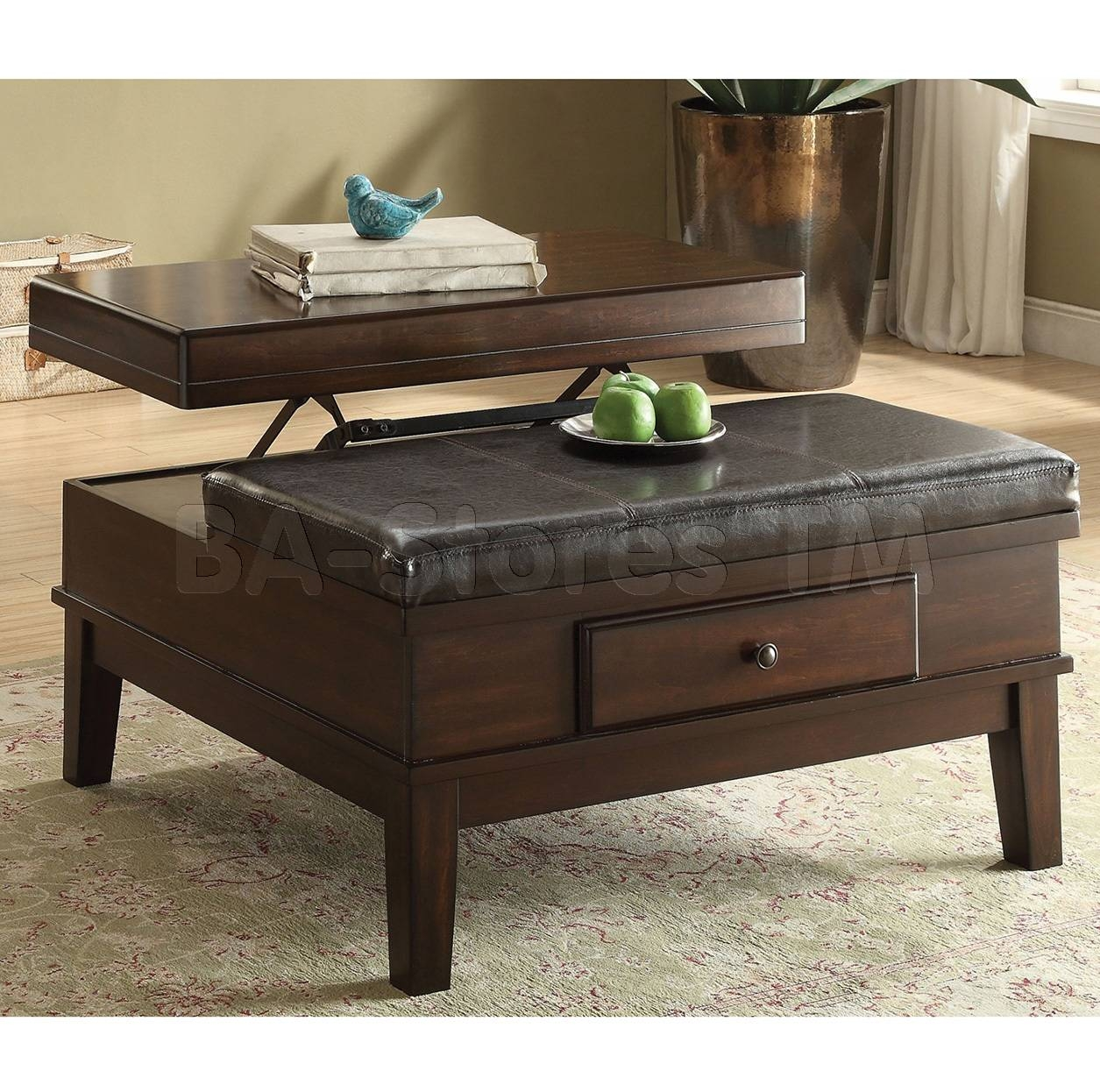 Quality Lift Top Coffee Table Chicago Furniture Warehouse Buy regarding Waverly Lift Top Coffee Tables (Image 21 of 30)