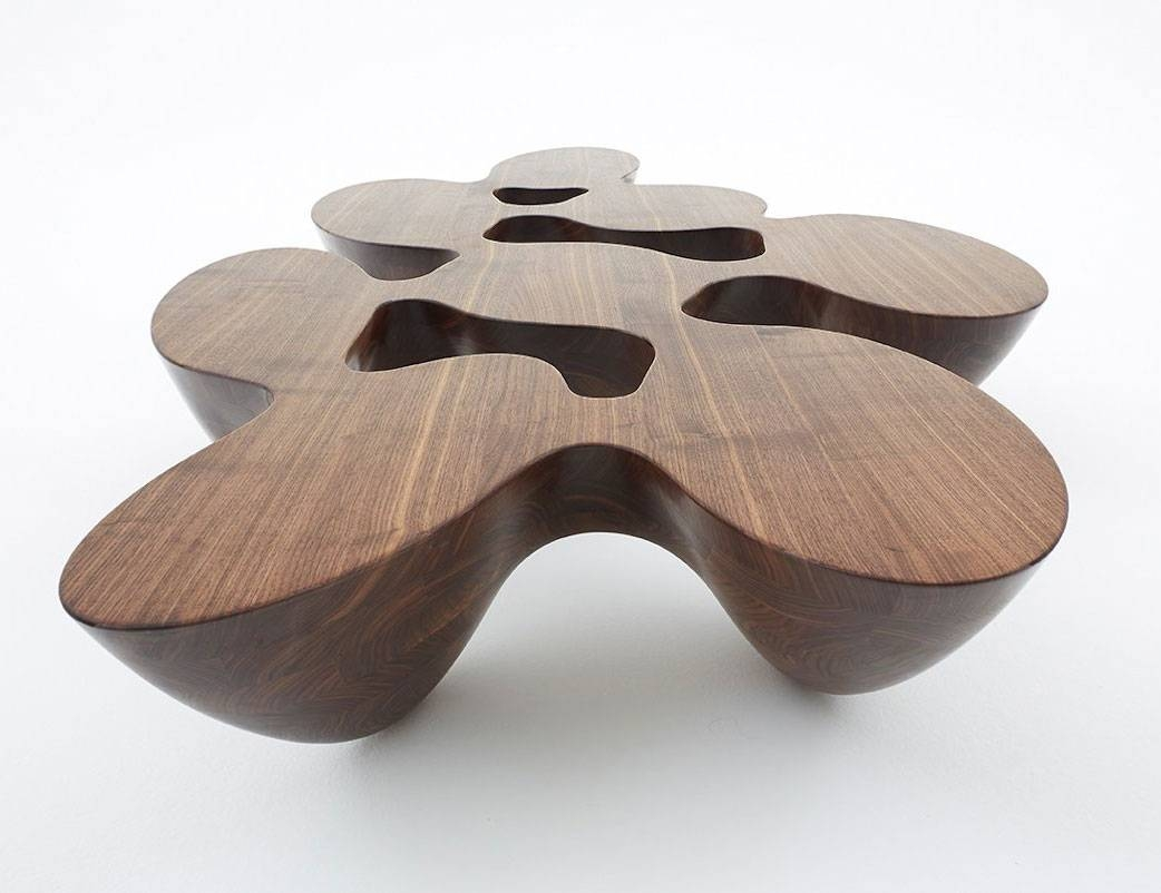 Quark Coffee Tablesemmanuel Babled @ Wood-Furniture.biz with Odd Shaped Coffee Tables (Image 26 of 30)