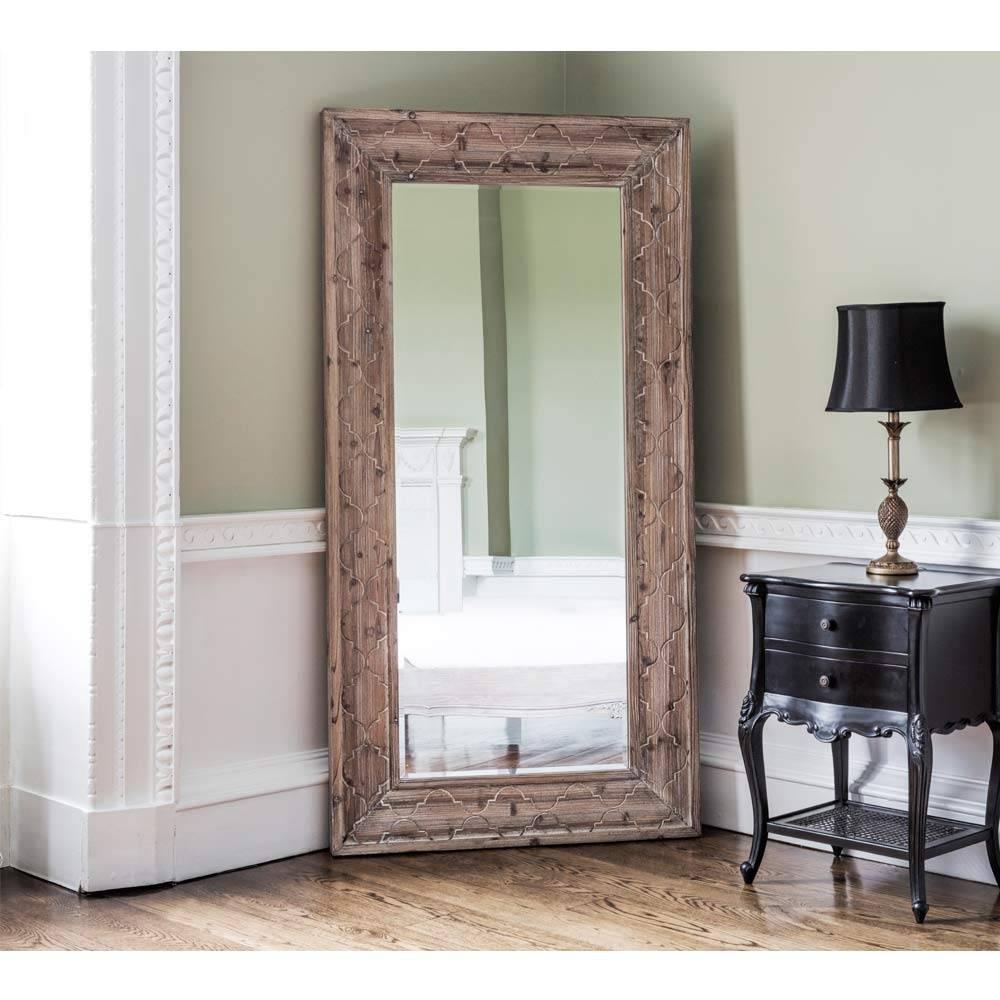 Quatrefoil Full Length Mirror | Full Length Mirror within Full Length French Mirrors (Image 25 of 25)
