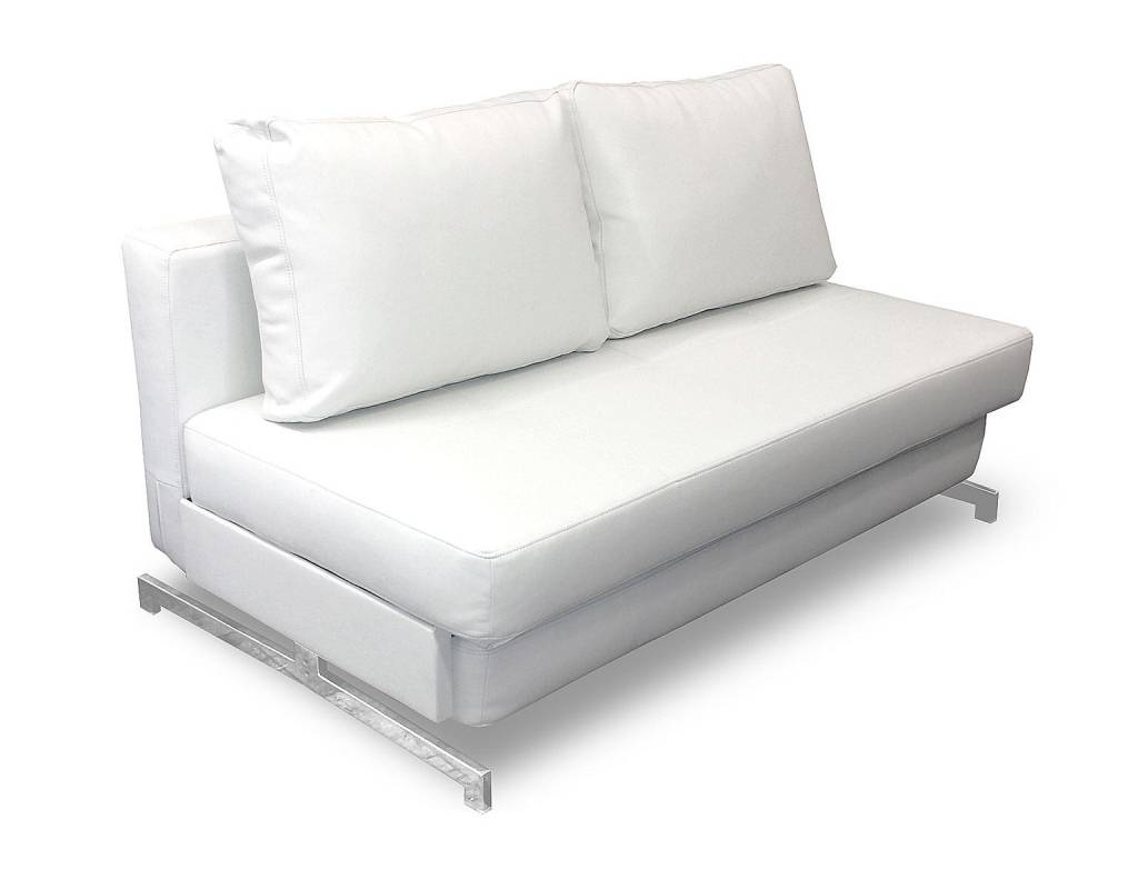 Queen Size Sofa Bed. Shown Open In Bed Position With Top Cushion in Sofa Sleepers Queen Size (Image 13 of 30)