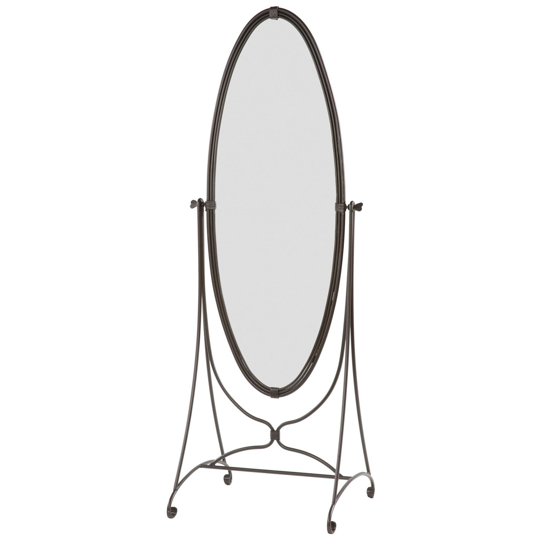 Queensbury Standing Mirror, Corner Standing Mirror - Fresh Bathroom regarding Wrought Iron Standing Mirrors (Image 13 of 25)