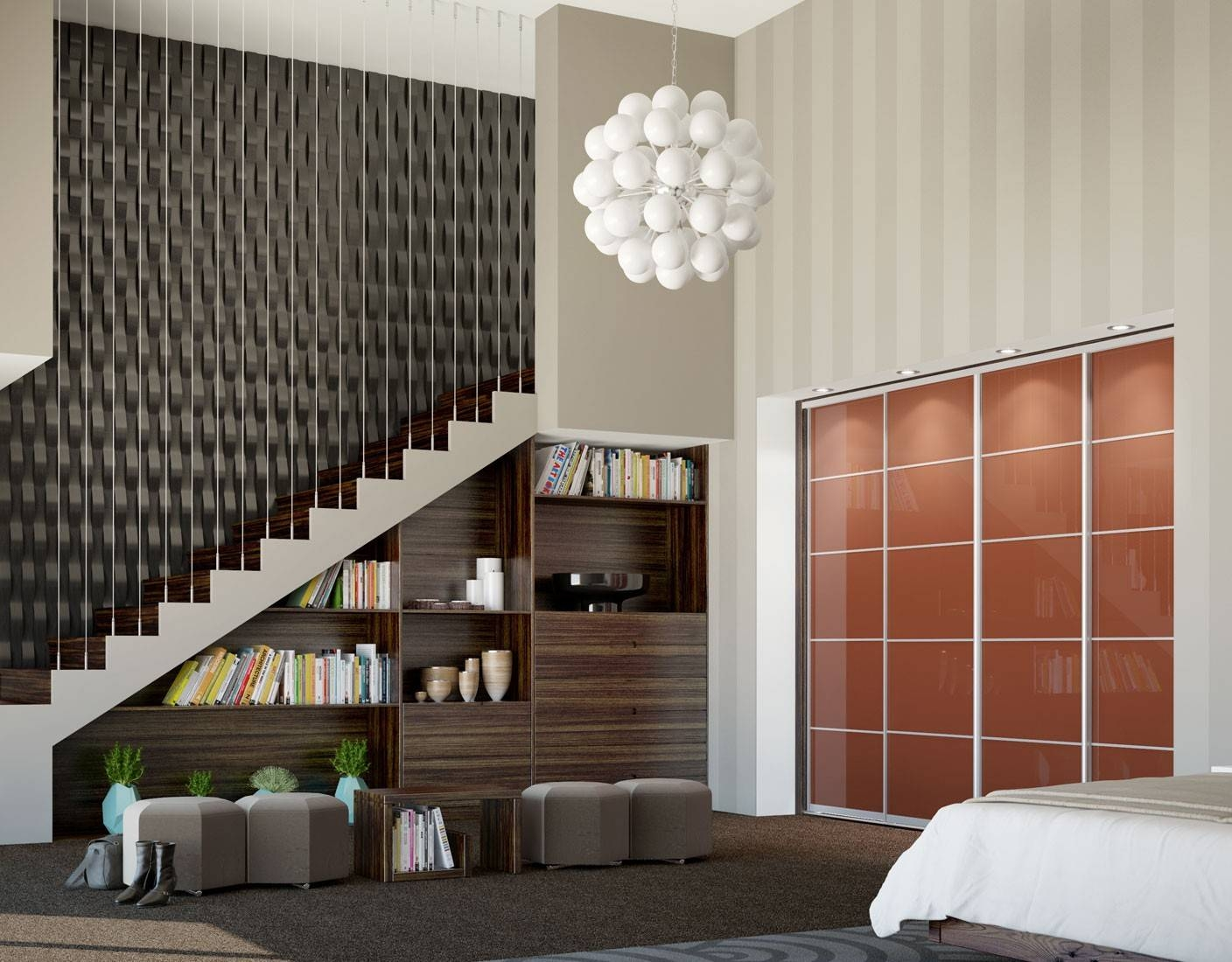 Quintessential - The Quintessential Range Of Sliding Fitted Wardrobes with regard to High Gloss Black Wardrobes (Image 9 of 15)