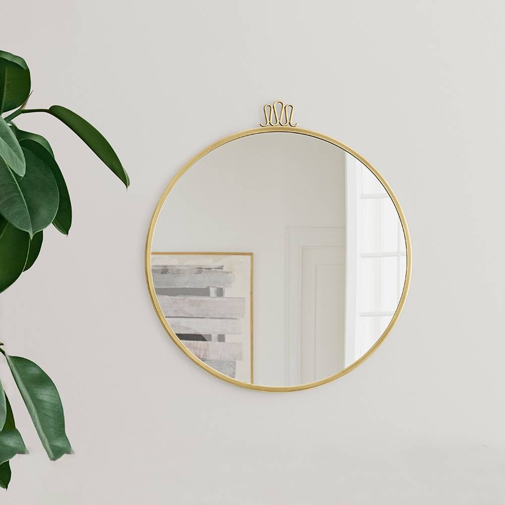 Randaccio Circular Wall Mirror | Gio Ponti | Gubi | Suite Ny intended for Circular Wall Mirrors (Image 18 of 25)