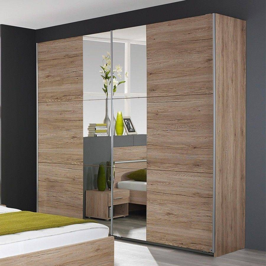 Rauch – Fellach Sliding Wardrobe With Part Mirrored Doors In within Rauch Sliding Wardrobes (Image 14 of 15)
