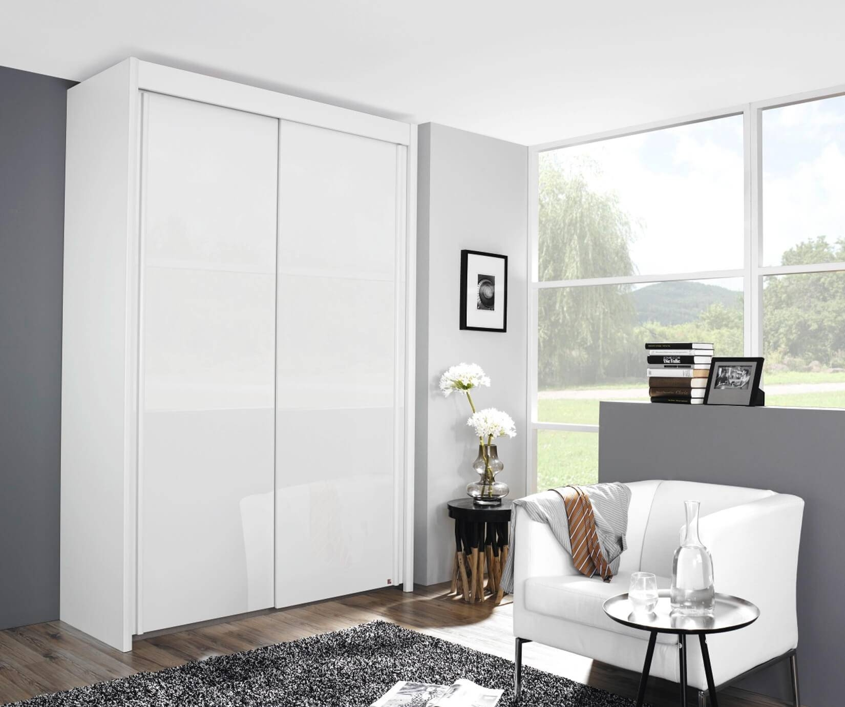 Rauch Furniture | Imperial 2 Door Sliding Wardrobe (W151Cm In Rauch Imperial Wardrobes (Photo 14 of 15)