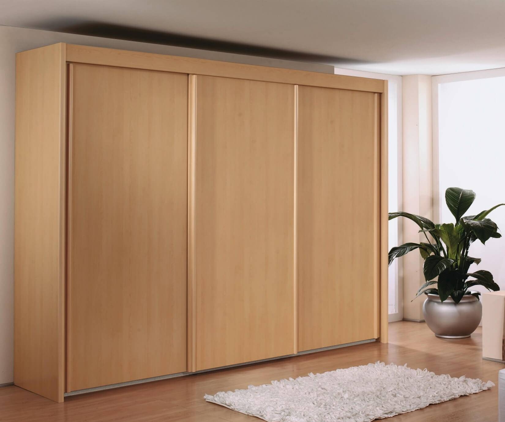 Rauch Furniture | Imperial 2 Wooden Door Sliding Wardrobe (w201cm Regarding Imperial Wardrobes (View 14 of 15)