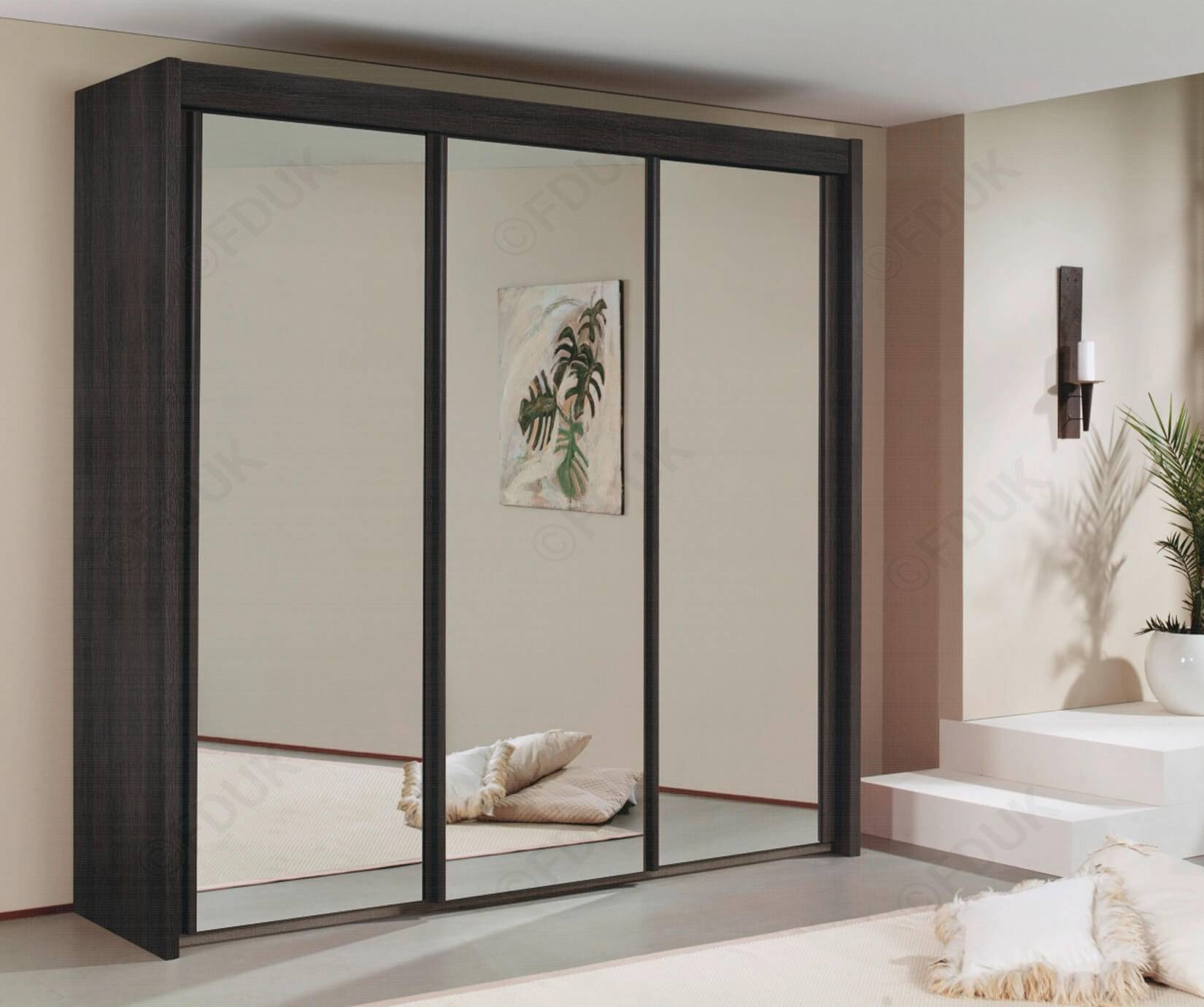 Rauch Furniture Imperial | Imperial Wardrobe With Full Mirror with Full Mirrored Wardrobes (Image 11 of 15)