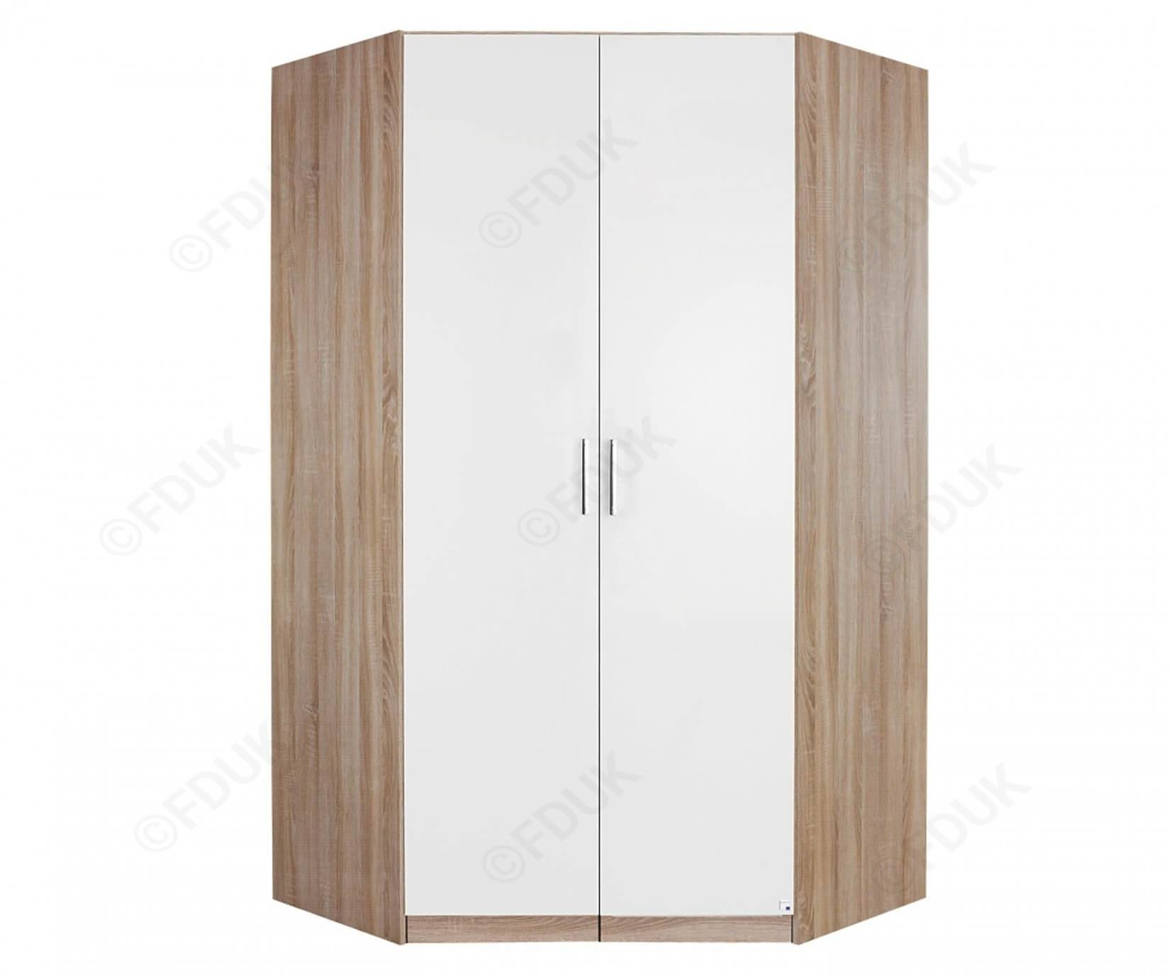 Rauch Furniture Samos | Samos Single Door Corner Wardrobe for 1 Door Corner Wardrobes (Image 11 of 15)