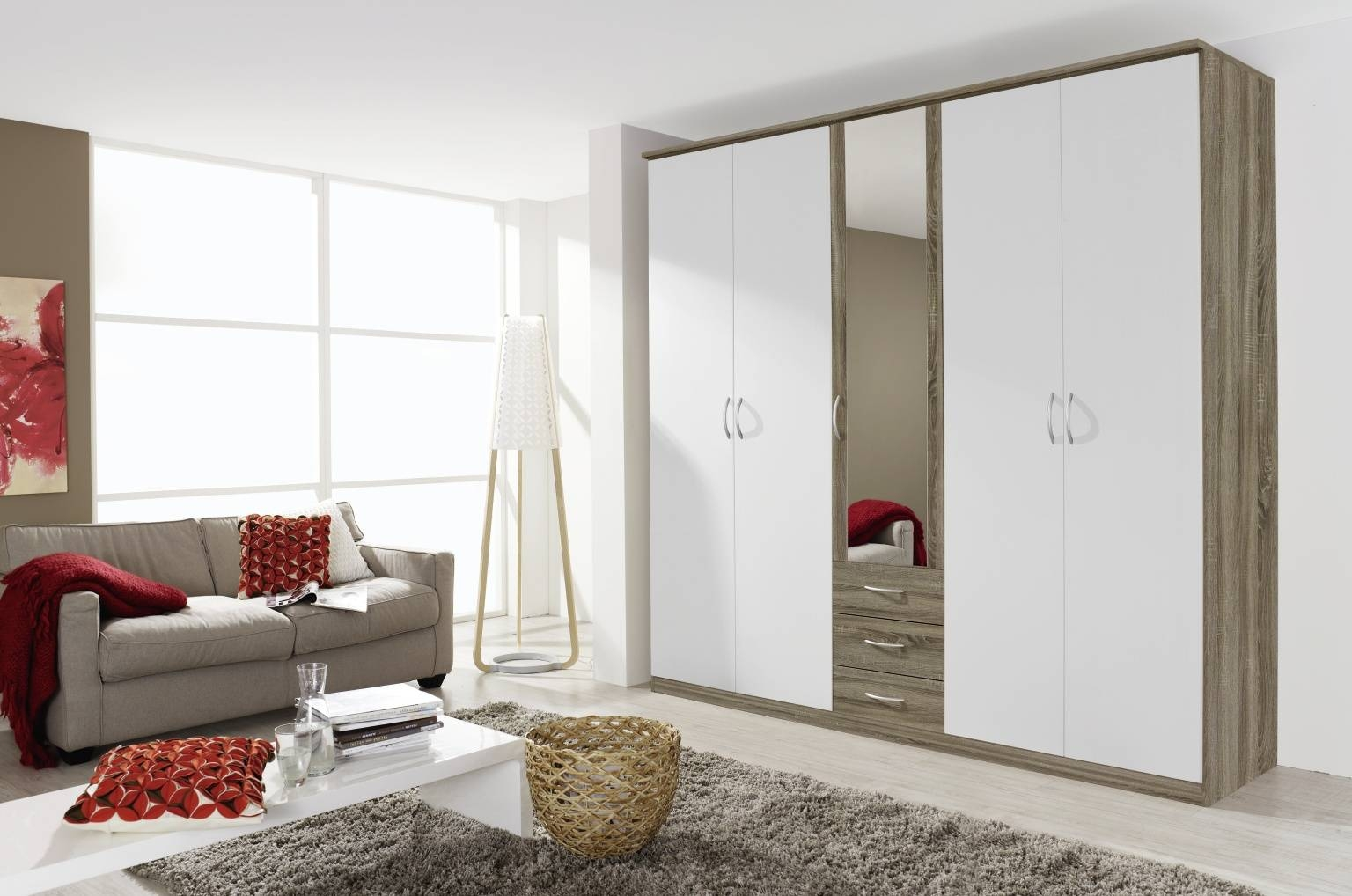 Rauch Kent Wardrobes – Furniture Brothers Pertaining To Kent Wardrobes (View 3 of 15)