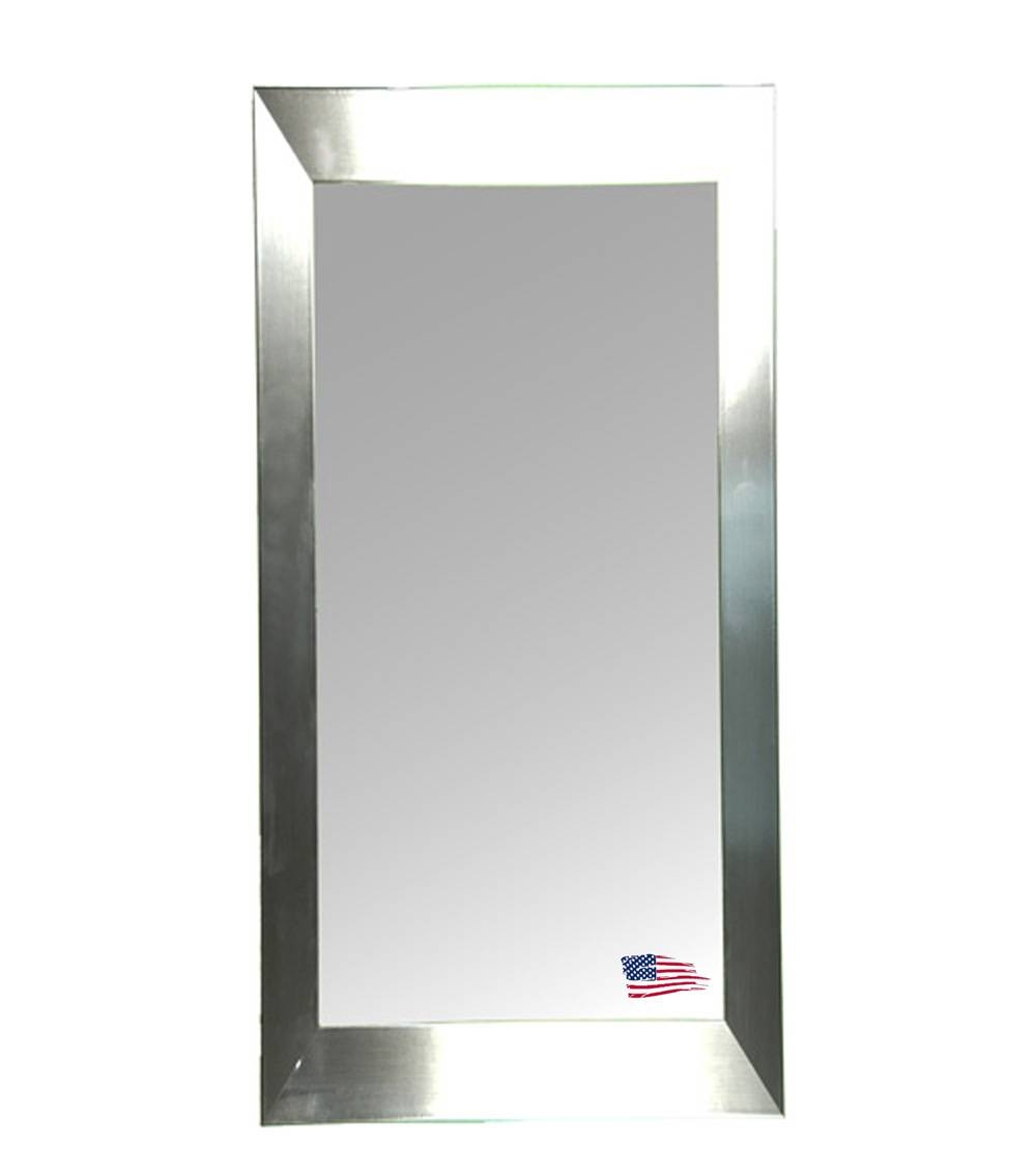 Rayne Mirrors Jovie Jane R002T Silver Grande Tall Wall Mirror with Tall Silver Mirrors (Image 20 of 25)