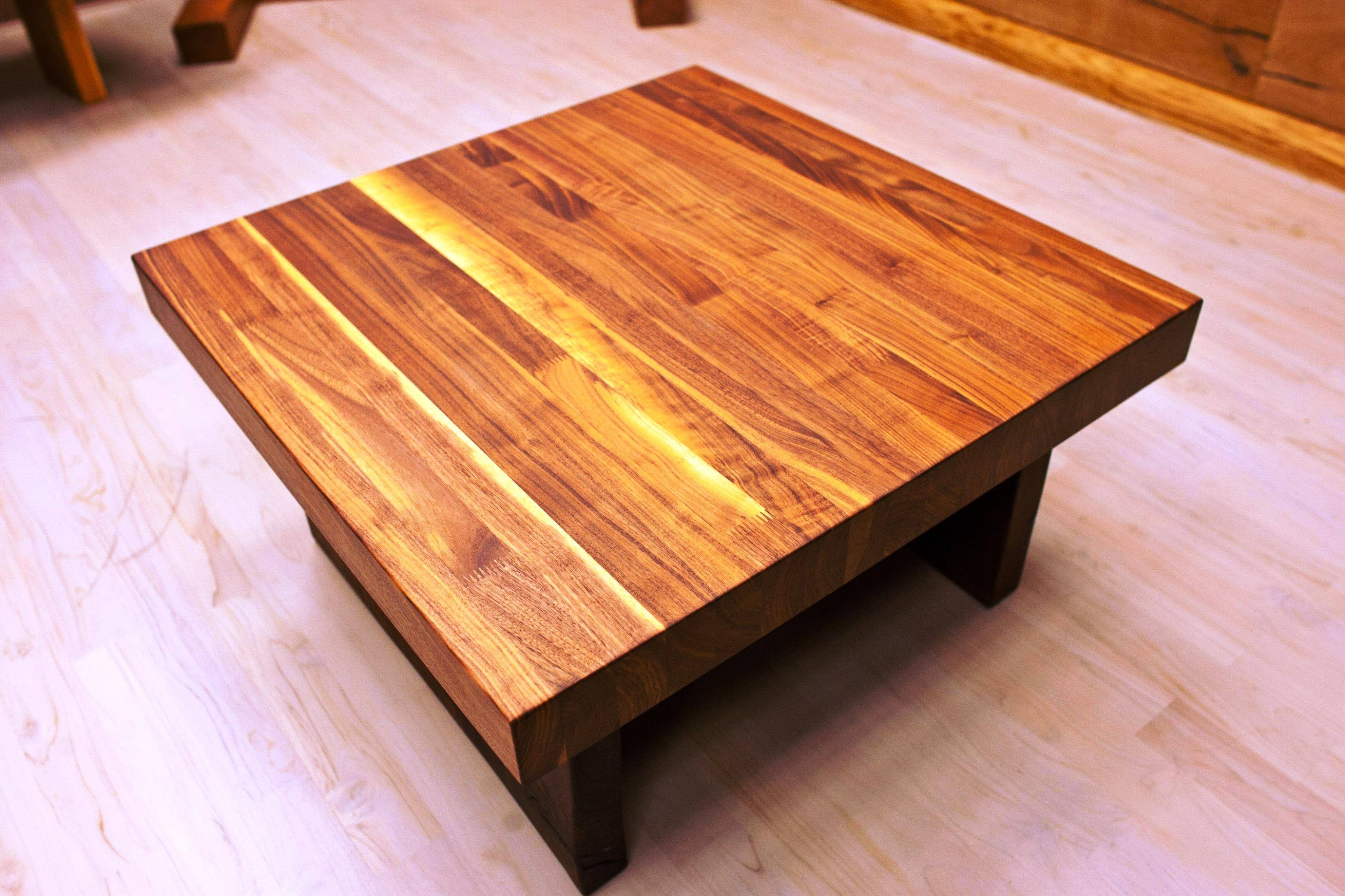 Real Wood Coffee Table | Coffee Tables Decoration For Coffee Tables Solid Wood (View 8 of 30)