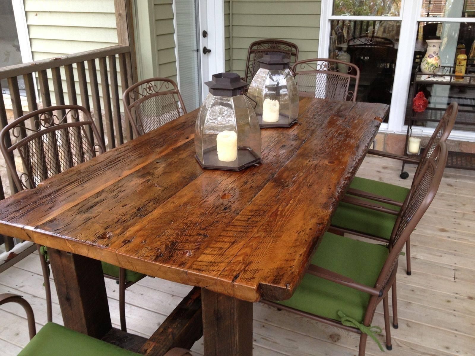 Reclaimed Wood Furniture And Barnwood Furniture | Custommade inside Rustic Barnwood Coffee Tables (Image 23 of 30)