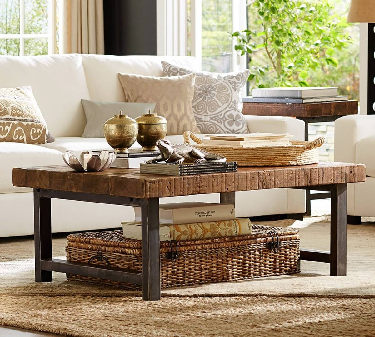 Reclaimed Wood Griffin Coffee Table — Sogocountry Design : Perfect for Griffin Coffee Tables (Image 23 of 30)